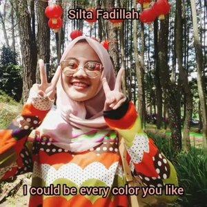 Biar ada kerjaan aja gitu di rumah bikin ginian 😂 seru jg yaaa, ini video terinspirasi dari fans-fans Tiara Idol, inget punya foto-foto yang hampir serupa ya udah buat deh biar gabutnya agak berfaedah 🤭#dirumahaja #ClozetteID #Colors