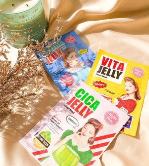 The sheet masks I bought just because they have an eye catching design and color on the cover @faithinface_official. Gonna start to try this jelly mask tonight ✨#cathyangreview #clozetteid