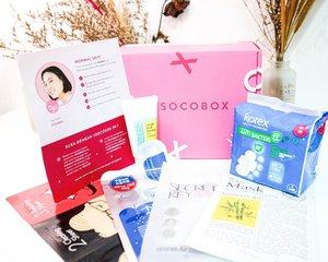 "I was surprised when a Socobox came to my mail.⁣These are @sociolla best selling products of 2019 and all the products I received are targeted for normal skin type which consists of :⁣🎀 @cosrx_indonesia Blackhead Remover Mr. RX Kit⁣🎀 @mediheal_idn NMF Aquaring Ampoule Mask Ex.⁣🎀 @secretkey_idn Starting Treatment Essential Mask⁣🎀 @ariul_id 7 Days Mask - Bamboo Water⁣🎀 @cosrx_indonesia Low pH Good Morning Gel Cleanser (travel size)⁣🎀 @kotexduniacewe Pads⁣⁣I basically have tried all the sheet masks include the face cleanser and yes, you can find my reviews at SOCO ID and join me to be a part of them as well.⁣⁣Besides, you can also shop all of these at Sociolla website and not to forget to use my code ""𝐒𝐁𝐍𝟕𝗪𝟏"" to get IDR 50K off. So what are you waiting for ? 😉⁣⁣#SOCOID #SOCOBOXBESTOF2019 #SOCOBOX #cathyangreview"