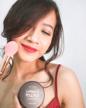 I'm enjoying playing around with make up collection from @riveracosmetics. Here are the five products that I use for this -oh just simple- look : 🌟 Luminous Micro Powder (Shade 02-Natural)🌟 Gotta Be Matte Lip Cream (Shade 301-Vibrant Red)🌟 Moisture Glow Lip Gloss (Shade 02-Sparkle Pink)🌟 Bold Intense Eyebrow Matic (Shade 02-Gray)🌟 Bold Intense Liquid LinerIf I got to choose two products to become my favorites, I will definitely choose the Luminous Micro Powder because of its micro particle that makes the texture of this powder super soft and smooth and second is Gotta Be Matte Lip Cream. Eventhough the finish of this lip cream is matte, it doesn't dry my lips during the day of usage. Thanks to include Vitamin E on this formula !For the full review of these collections from Rivera, head to my blog now! Link is on bio 😉Thank you @clozetteid and @riveracosmetics !#LiveLifeEmpowered #clozetteid #RiveraCosmetics #RiveraXClozetteIdReview #SelfieAddictPowder #Extremeplumpitup #enviousshape