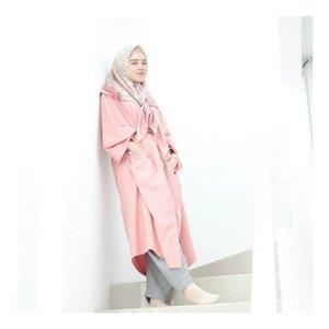 #iwearkimi today's outfit 💖 #larasatiiputristyle #hijabstyle #hijabdaily #clozetteid #clozetteambassador