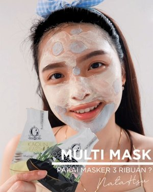 """May 3, 2020Multi mask pakai masker 3 ribuan ?!.Kalian pasti udah tau lah ya brand @madame.gie by @gisel_la. Kaget sama harga produknya yang bisa dibilang """"SANGAT"""" murah dan sudah BPOM. Wow. Been so proud of local products lately !.Aku baru saja mencoba @madame.gie Beauty Mud Icing Mask. Awalnya agak bingung kenapa namanya """"Icing"""". Tapi setelah coba, baru sadar kalau produk ini teksturnya mirip banget kayak krim icing di kue-kue ultah 😂.Disini aku pakai 2, yaitu Acne Control dan Pore Cleansing. Acne control hanya aku pakai di daerah kulitku yang berjerawat, sisanya pakai pore cleansing ^^.Meskipun ada kandungan alkohol, produk ini ga ada wangi alkohol yang menganggu. Me likey 👌🏻.Cukup 10 menit, aku merasa kulit jadi lebih fresh. Belum ada perubahan signifikan lain setelah pemakaian, mungkin memang harus rutin ya ^^.🎶 :  Powfu - Death Bed@tampilcantik @cchannel_id @cchannel_beauty_id @bunnyneedsmakeup #clozette #clozetteID #beautiesquad #setterspace #beautybloggerindonesia #beautybloggerid #bloggerceriaid #bloggerceria  #bloggermafia #beautynesiamemberblogger #charisceleb #beautygoersid #bloggerperempuan #sociollabloggernetwork #vsco #vscocam"""