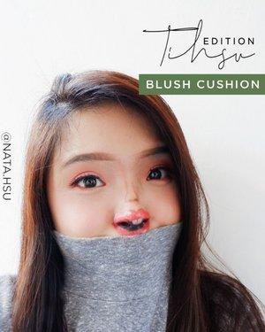 June 26, 2020Tihsu EditionLagi cobain blush cushion ceritanya, ternyata enakeun ya 😂.Kamu suka tipe blush on kayak gimana nih? Share yuk di komen.🚫 Btw, ini bukan filter ya ! 🙂 🚫#TinyFaceMakeupChallenge #makeupart #clozette #clozetteID #beautiesquad #setterspace #beautybloggerindonesia #beautybloggerid #bloggerceriaid #bloggerceria  #bloggermafia #beautynesiamemberblogger #charisceleb #beautygoersid #bloggerperempuan #sociollabloggernetwork #vsco #vscocam #cchannelbeautyid #cchannelfellas #makeupart