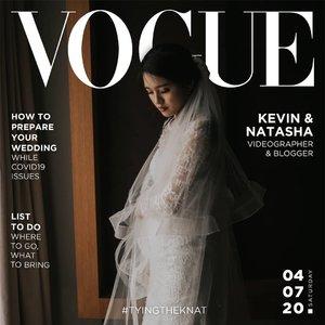 July 11, 2020 #VogueChallenge Telat ga sih? WKWK.  Btw, aku ada bikin blogpost tentang alur mengurus catatan sipil pernikahan selama pandemi, sebenernya ribet ga sih? Perlu kemana dulu? Harus bawa apa aja ? Cek yuk di #sprinkleofraindotcom , linknya di bio ya ! . #clozette #clozetteID #beautiesquad #setterspace #beautybloggerindonesia #beautybloggerid #bloggerceriaid #bloggerceria  #bloggermafia #beautynesiamemberblogger #charisceleb #beautygoersid #bloggerperempuan #cchannel #cchannelfellas #sociollabloggernetwork #vsco #vscocam #vogue #magazine