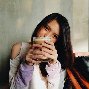 "May 16, 2018Don't forget to drink your coffee this morning, cheers ! 🍻.Post tentang suasana @angelinuscoffee_id ada di blog ku ya, siapa tau mau foto"" instagram-able jg hhehe. link di bio 😍.#angelinuscoffee #clozette #clozetteID #beautiesquad #setterspace #beautybloggerindonesia #beautybloggerid #bloggerceriaid #bloggerceria #kbbvmember #bloggermafia #beautynesiamemberblogger #charisceleb #beautygoersid #bloggerperempuan #sociollabloggernetwork #vsco #vscocam #sprinkleofraindotcom"