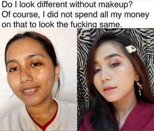 Setuju ye kan kawan kawan 😂  Perlu detail makeup yg dipakenya ga ni?  #indobeautysquad @indobeautysquad #bvloggerid @bvlogger.id #clozetteid @makeupfleekkk #setterspace @setterspace @itsmylookbook #beautiesquad @beautiesquad #indonesianbeautyblogger @beautybloggerindonesia #flawlessmakeup #beautywithnorules #cosmetics #face #highlighter #makeuptutorial #makeuplife #makeupartistworldwide #makeupgoals #makeuptips #makeupfun #makeupporn #mualife #featureme #makeupfeatures #beauty #makeupenthusiast #makeupaddict #makeuplook #makegirlz #wakeupandmakeup #indobeautygram #fff