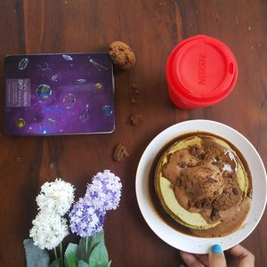 Coffee and Pancake are the perfect combination dedicated for : @raniaryanda #handsinframe #WTFoodies