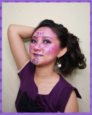 Sebentar lagi buka puasa., selamat buka puasa ya💕💕 .  #clozetteid @clozetteid @clozetteco #gemini #artmakeup #artzodiac #makeupkarakter #makeup #makeupgemini #geminisign #zodiacsigns #zodiac #zodiacmakeup #zodiacsign #zodiacpost #zodiacposts @tips__kecantikan @tipsmakeup_id @tampilcantik #tampilcantik @makeupkarakter_id