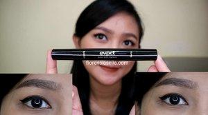 Allow.... Lagi pada sahur ya? 😂 .  Udah pada nonton reviewku tentang eyeliner ini belum?? .  Yg belum nonton, cuss langsung ke youtube aku..😁 .  #clozetteid #eye #eyeliner #makeupmata