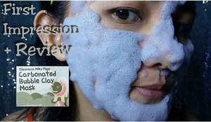 First Impression + Review Carbonated Bubble Clay Mask from Elizavecca Milky Piggy..😊 Cek link di bio untuk nonton y..😀 https://www.youtube.com/watch?v=Mjp3crH2eHU #clozetteid #beauty #beautyblogger #bloggerindo #bloggerindonesia #reviewbubblemask #bubblemask