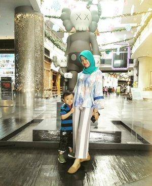 🧒👩 #OOTD #momandson#hijab #Hijaber#ClozetteID #jakarta