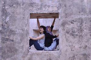 I looovvvveeeeee being weird with youuu sissypoo @olivpenta 🤪🤪🤪 . . . . . #situswarungboto #situswarungbotojogja #warungboto #travel #travelphotography #yogyakarta #nikon #nikonphotography #nikontravel #explorejogja #exploreyogyakarta #clozette #clozetteid