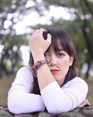 Handmade bracelets by @printilanacc ❤️ . . . . . #blogger #fashionblogger #bloggerperempuan #bloggerjogja #nikon #nikonindonesia #ootd #ootdmagazine #chictopia #clozette #clozetteid