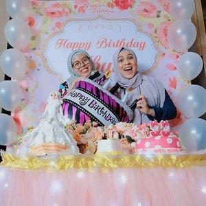Happy Birthday buuuu @missnyctagina 🎂🎉🎊 pokonya yang terbaik lah... ......#ceritaraju #clozetteid #birthday #surprise