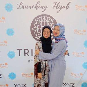Ratna Juni X Ratna Galih 😊😊😊😊.......#ceritaraju #launchingtrinyctabynyctagina #clozetteid #hijabers #hijabcommunity