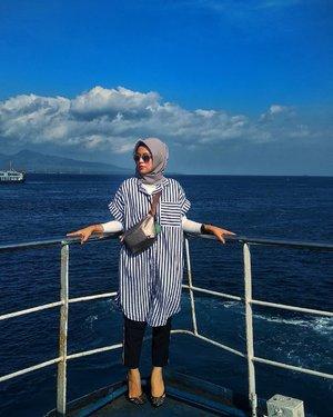 Love the Blue of the sky & sea....#ClozetteID #ShoxSquad #EdisiMudik #likeforlikes