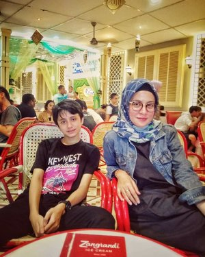 Ice cream dating with @gaskara.bachtiar ...#ClozetteID #EdisiMudik #likeforlikes