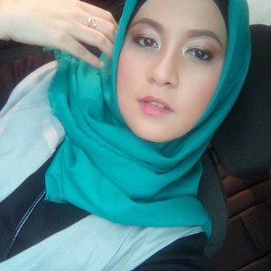 Flawless make up by @wardahbeauty  #havaxgaudixwardah #muslimfashionstreet #clozetteid