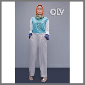 Dieza top and Cullote pants from @houseof_olv #ClozetteID #ootd #houseof_olv#hijabfeature_2015