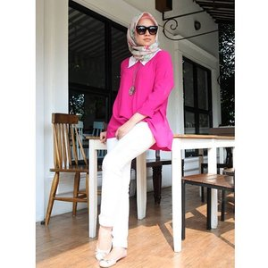 sometimes it's not easy tofind perfect clothing color combinations. Wear pink tocreate adelicate and feminine look. I think, Itcombines well with white, beige, light blue, brown and blue. Pink makes the most advantageous combination with white.Top from @houseof_olv ..............#clozetteid #Blogger #indonesianblogger #beautyenthusiast #FashionEntusiast #BeautyLovers #FashionLovers #LifeStyleBlogger #beautyblogger #indonesianbeautyblogger #indonesianfemaleblogger #femaleblogger #indobeautyblogger #cgstreetstyle #ootd #outfitoftheday #streetstyle #fashionaddict #streetfashion #dailyfashion #womanfashion #fashionable #instafashon #like4like