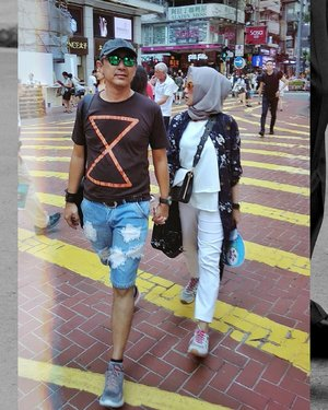 Partner for almost 20 years #Menuju13Tahun #Bachtiarsholiday #HK2018 . . . #ClozetteID #shortgateway #gateway #holiday #familyholiday #personalblogger #personalblog #IndonesianBlogger #lifestyleblog #Hijab #Hijabootd