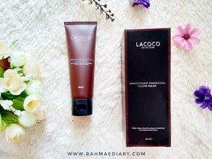 Finally, my 1st experience on mud mask and 1st blog post in September is here! Review Lacoco Amazonian Charcoal Glow Mask @lacoco.id x @beautiesquad  #Beautiesquad #LacocoenNature #BeautiesquadxLacoco