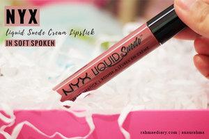 Beberapa orang bilang shade soft spoken dari @nyxcosmetics liquid suede itu dupe nya lolita @katvondbeauty , jadi aku beli aja. Mumpung @sociolla lagi promo diskon gila-gilaan waktu itu. No time to think, just grab it. And no regret, I love the color, but . . . see more on my blog rahmaediary.com  #clozetteid #makeup #lipstick #lipcream #mattelipstick #mattelipcream #matte #mauve #mauvelipstick #nyxcosmetics  #nyx  #undefined  #katvondcosmetics #katvond #makeupforever  #makeupgirl #beautyblog #beautyreview #bloggerperempuan #bloggerindonesia #bloggerlife