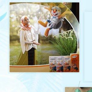 """Hari ini aku hadir di Stimuno Blogger Gathering dengan bahasan tema """"Kenapa Anak Mudah Sakit? """" __Acara dibuka oleh perwakilan dari Dexa Medica, perusahaan yang memproduksi Stimuno. Disampaikan bahwa Stimuno adalah Phytoparmaca yaitu obat yang berasal dari bahan herbal dan diproduksi dengan bahan-bahan asli dari Indonesia__#StimunoXClozetteID #GakTakutSakit #StimunoPenjagaImun #ClozetteID@stimuno.indonesia @clozetteid"""