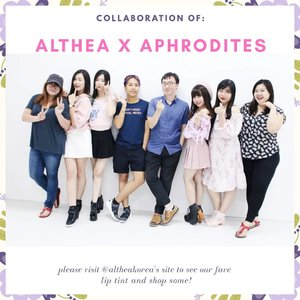 thank you @altheakorea and hope that we could return to your HQ again very berry soon 💖it's definitely an honor for us @_aphrodites_ to visit your office and have a super fun work + playdate there! thank you @hellotammylim for always arranging nice itineraries for us too, hope you don't mind our craziness while at KL 💃😂—#altheaid#altheakorea#aphroditesxaltheakorea#WhatCarolWear#かわいい#可愛い#コーデ#コーディネート#ファッション#メイク#コスメ#clozetteid#aphrodites#wiwt #influencer #beautyinfluencer #aphroditesoverseas #influencersurabaya #sbybeautyblogger