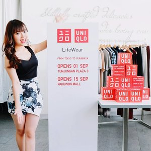 Welcoming @uniqloindonesia to Surabaya ~  #FromTokyotoSurabaya they bring all the timeless pieces that can be worn by everyone at all age, all occasion, and all season long!  Curious about where and when? First store will open on September, 1st at Tunjungan Plaza 3 and the second will be following on 15th - at Pakuwon Mall!  Save the date and let's meet up again there! See you on September guys ★🎉 #UniqloIndonesia #uniqlolifewear  #uniqlo #ユニクロ
