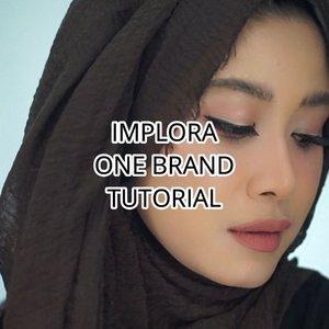 """""""Kak..One Brand makeup Implora dong.."""" Siap bosque 😆😆.Implora tuh terkenal sama makeup yang murah-murah juga. Tapi bagus ga yah.. Cek detail one brand makeup tutorial @imploracosmetics  di Youtube Channel aku (Youtube: Hai Ariani), ini linknya https://youtu.be/FXFMB7BeDj8Atau kamu bisa klik di bio aku.#clozetteid #imploracosmetics #imploralipcream #naturalmakeup #makeupnatural #tutorialmakeup"""