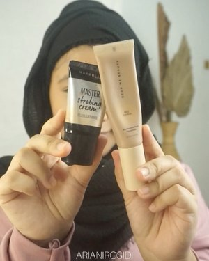 Adonan complexion favorite yang bikin kulit pori-pori keliatan halus..Produk yang aku pakai:@studiotropik Flawless Priming Water@wardahbeauty Porefection Skin Primer@dearmebeauty Airy Poreless Fluid Foundation - Nude Beige aku campur sama @maybelline Master Strobing Liquid Highlighter@esqacosmetics Flawless Micro Setting Powder Tinggal selesain makeup seperti biasa dan jadi deh.. ❤️#clozetteid #flawlessmakeup #tutorialmakeup #makeuptutorials #makeuptutorial #naturalmakeup #makeupnatural