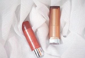 Wardah colorfit ultralight matte lipstick dan Maybelline The Powder Matte. Dua lipstik ini sekilas packaging-nya mirip. Finishnya sama-sama matte, tapi bagusan mana ya?  Cek detailnya di youtube channel aku, ini linknya https://youtu.be/MgS9oSw3Lw0 atau kamu bisa klik di bio aku. #clozetteid #wardahcolorfitultralightmattelipstick #maybellinethepowdermattes #lipstick