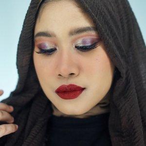 Kangen main eyeshadow..😆😆Ini pakai produk-produk terbarunya @focallurebeauty Besok di Youtube channel aku ya.. 😘#clozetteid #makeup #boldmakeup #boldmakeuplook