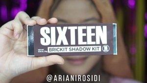 Main Eyeshadow @16.brand  Brickit Shadow Kit yang bisa banget dipakai buat day to night makeup, bisa dipakai bold atau soft makeup 😍bisa dibeli di @altheakorea#clozetteid #16brand #16brandbrickitshadow #halfcutcrease #cutcrease  #eyemakeuptutorial #eyemakeupideas