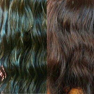 👱BEFORE - AFTER [Foto ini diambil di tempat yang sama, dan dengan cahaya yang hampir sama]  Udah beberapa kali cat rambut warna coklat tapi gak pernah berhasil? Alias rambut masih aja warnanya hitam?  Coba deh baca review dan pengalaman aku nyobain #BeautyLaboHairColor .. warnanya langsung keluar TANPA BLEACHING! 😱 👍  Read my full review and the tutorial how I dye my hair at www.niiasantoso.blogspot.com  #beautylaboxkbj #beautylabo #clozetteid #kawaiibeautyjapan #indonesianfemalebloggers #beautysquad #bloggerperempuan #haircolorreview