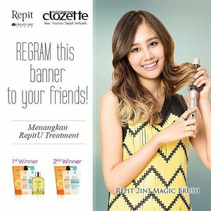 It's from Korea!!!I will style my hair everyday if i win this😆Wish me luck!!#ClozetteXRepitIndo #Clozetteid #RepitIndo