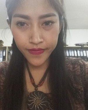 #naturalmakeup for today😊😊😊 @indobeautygram #whitesuperfresh, #mascara and e#eyebrowpencil by @maybellineina #eyelinergel by #eternallycosmetics #mattelipstic #purbasari87 by @purbasari_indonesia  #todaymakeup #mymakeup #simplemakeup #selfie #indobeautygram #instalike #instapic #instaphoto #nofilter #beautygram #indovidgram #clozetteid #makeup #selfie