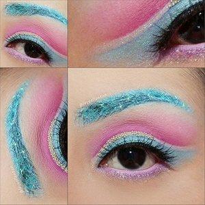Last pic and detail look 😍 Pantone 2016 inspired..💕 Eyeshadow @morphebrushes  palette @bhcosmetics  Take Me to Brazil  Base @nyxcosmetics  JEP in Mik  @nyxmakeupid  Glitter in pink  Eyelashes @florinlash  Allium.. Sweet criss cross eyelash💞  I place some random beadings😍💞 and messy eyebrow with blue flitter🌼  #morphebrushes #eotd #hudabeauty #vegas_nay  #clozetteid  #lucinda212 #eyeart #eyeshadow #motdindo #shophudabeauty #discover_muas #maryammaquillage #lookamillion #makeuplover #glamexpress #iryrandrasana #nyxcosmetics #dressyourface #motivescosmetics #makeupaddict #makeupgeek #amazingmakeupart #anastasiabeverlyhills #undiscovered_muas #belajarmakeup #motd #trendycreativity #tutorialmakeup #universalhairandmakeup