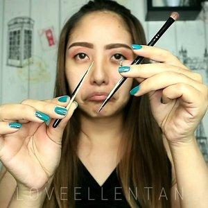 ✨ Glittery Liner Makeup ✨ ⏩TUTORIAL . . Softlens SWEETY LOOK FRESH - BROWN from .➡@mysoftlenscom .➡@mysoftlenscom .➡@mysoftlenscom . . EYES : @morphebrushes 35C @mizzucosmetics Eyeliner  @coastalscents Revealed  Erude House Eyeliner glitter . . FACE : @maybelline Fit Me Foundation Etude House Double Lasting Foundation Rire Luxe Dual Stick Coty Airspun Loose Powder @thebalmid Mary Lou Manizer . . LIPS : @esqacosmetics Crayon Lipstock in Nude @citycolorcosmetics Be Matte lIpstick in Samy from @kutekmurah . .  Enjoy ya😘😘💖💖 ------------------------ @indobeautygram @indovidgram #eotd #fdbeauty  #clozetteid  #makeupartistworldwide #maybelline  #anastasiabrows #ivgbeauty #makeupclips  #nyxcosmetics #tipsmakeup #makeuplover #wakeupandmakeup #makeuptips #indobeautygram #makeupaddict #makeupgeek #amazingmakeupart #anastasiabeverlyhills #undiscovered_muas #indovidgram #tutorialmakeup #makeupvideo #bhcosmetics #discover_muas  #suvabeauty #beautygram #beautyvlog #hypnaughtymakeup #instamakeup