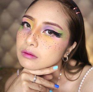 Pastel colours💕..  #makeupart . #fdbeauty #clozetteid  #ivgbeauty #makeupclip #makeuptips #indobeautygram #koreanstyle #koreanblusher #cchannelfellas #indovidgram #makeupvideo #beautyguruindonesia #beautygram #beautybloggerindonesia #muablora  #koreanmakeup #nyxcosmeticsid  #creamblush  #indobeautysquad #jakartabeautyblogger