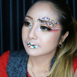 🌲⛄🌈💖 Simple . @mehronmakeup Paradise AQ @nyxcosmetics_indonesia  JEP in Milk @makeoverid Matte Lip cream in Scarlett . . #motd #fdbeauty  #clozetteid  #makeupartistworldwide  #anastasiabrows #ivgbeauty #make4glam #makeuplover #wakeupandmakeup #indobeautygram #makeupaddict  #amazingmakeupart #anastasiabeverlyhills #belajarmakeup  #tutorialmakeup #beautyguruindonesia #makeuptips  #beautygram #instamakeup #muablora #absolutenewyork #fotd #setterspace  #christmas