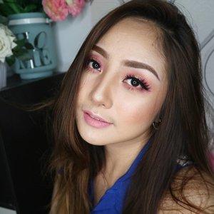 Wearing fav lashes JADE from @lashnatic 💖 . .  #eotd #fdbeauty  #clozetteid  #makeupartistworldwide #maybelline  #anastasiabrows #ivgbeauty #makeupclips  #nyxcosmetics #lookamillion #makeuplover #wakeupandmakeup #dressyourface #indobeautygram #makeupaddict #makeupgeek #amazingmakeupart #anastasiabeverlyhills #esqaddicted #belajarmakeup  #tutorialmakeup #makeupvideo #bhcosmetics #makeuptips  #suvabeauty #beautygram #beautyvlog #hypnaughtymakeup #instamakeup