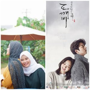 Goblin Versi Kearifan Lokal✨⠀⠀Annyeong Haseo Yeorobun, kenalin Kim Shin dan Eun Tak dari Bekasi 😂😉✌️⠀⠀⠀⠀⠀⠀#Goblin #DiaryNovitania #ClozetteID #KoreanDrama #KimShin #EunTak #novitaniadotcom⠀