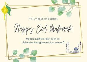 Selamat Hari Raya Idul Fitri 1441H. Mohon maaf lahir batin ya. Semoga sehat dan bahagia untuk semua 💕🤗...#Diarynovitania #ClozetteID #EidMubarak