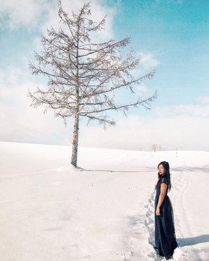 kayak keren banget, ya, posenya; mau tahu behind the scene-nya? swipe aja. 🙋🏻♀️ . demi foto bangetlah pokoknya, dan asal tahu aja sesuai kata @amrazing, Hokkaido tuh dinginnya ampun-ampunan ngalahin Iceland. jadi kalau udah tahan begini di Hokkaido, ke Iceland bisalah pakai oblong. 😜✌🏻 . 📷 @tamagraph  #ExploreHokkaido #VisitHokkaido #HokkaidoWinter  #VisitJapan #JapanTrip #YukinoTamaTrip #TravelinStyle #Fujifilm_ID #ClozetteID  #JNTOID