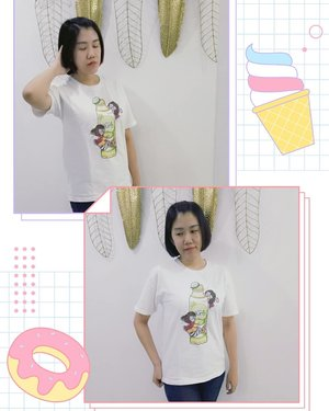 This t-shirt made memories again about All*re Family from 2 years ago. Do you remember this t-shirt guys? 👕 by @jessie_papier . . . #clozetteid #ootd #lifestyleblogger #makeup #cosmetics #skincare #instablog #instalike #follow  #followme #可愛い #japanesegirl #japan #japanese