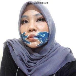 #MakeupLookbyTami.Batik Makeup Collab with @beautiesquad 👩🎨 Ada yang bisa tebak aku terinspirasi dari motif batik daerah mana?Detail produk apa aja yang aku pakai udah up di blog ya 👉 ((bit.ly/BatikMakeup)) 👈 atau bisa langsung klik link yang ada di bio ya~♡.#Beautiesquad #BSFebruaryCollab #BSCollab #BSBatikMakeupCollab #BatikMakeupCollab #BatikMakeupLook #clozetteid