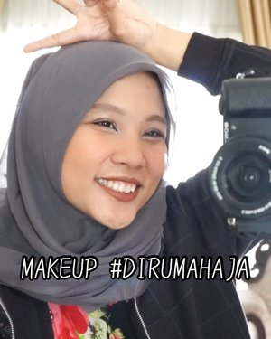 Ada #MiniTutsbyTami untuk makeup #DiRumahAja nih😝🤣.Products I Used@makeoverid Tinted Moisturizer 'Medium Beige'@ltpro_official Fix Conceal 'Medium'@mobcosmetic Pro Brow Sculptor 'Wood'@latulipecosmetiques_ Cheek & Lip 'Peach'@jacquelle_official Tone Up Powder@eminacosmetics Pop Rouge Pressed Eyeshadow Gelato@minisoindo Ultra Thin Waterproof Eyeliner@wardahbeauty Mascara@fanbocosmetics Ultra Satin Lip 05.Inspired by: @hanummegaa @ryana15_.#ivgbeauty #viralvideo #makeuptutorial #lipsyncwithhanum #acneskin #makeupideas #inspirasimakeup #tipskecantikan #kbeauty #koreanmakeup #tutorialmakeup #tutorialmakeupkorea #buatcantik #tampilcantik #ragamkecantikan #clozetteid