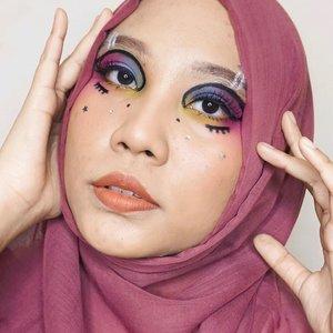 👩🏻🎨 . Makeup inspired by @deemakeupart @cindercella . #makeupart #facepainting #facepaint #undiscoveredmuas #100daysofmakeup #ClozetteID